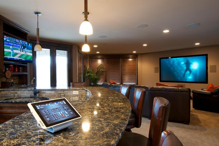 Living Room Home Automation